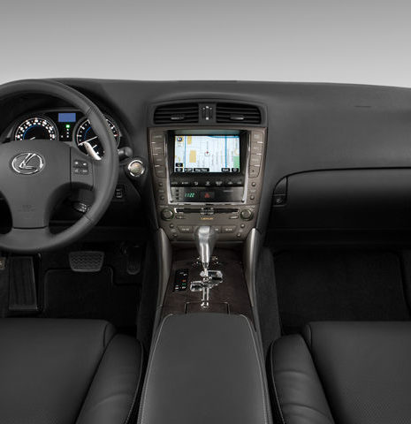 2009_lexus_is_250_dashboard
